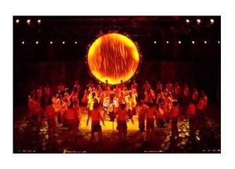 Anadolu Ateşi yangına rağmen ayakta