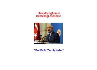 Kemal Kılıçdaroğlu'nun bir ayıbı (Der Spiegel'e verdiği röportaj)