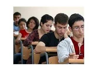 YGS Sınavı geçti, ama deldi de geçti…
