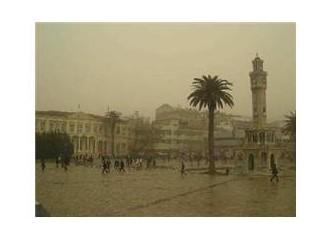 İzmir'in Çarşamba yağmurları…