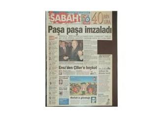 O günün gazete manşetleri ile 28 Şubat ve Necmettin Erbakan