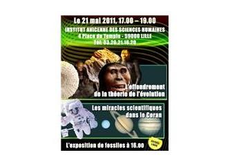 """Yaratılışçılar Fransa'da """"Evrim Teorisi'nin Çöküşü"""" konferanslarına başlıyorlar"""