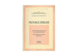 Devlet protokolü; makamların sıralaması, isimleri?...