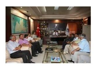 CHP Mersin Akdeniz ilçe ve il örgütünden, Başkan Özcan'a ziyaret...