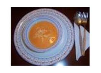 Domates çorbam yandı...