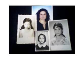Eski fotoğraflar ve mektuplar