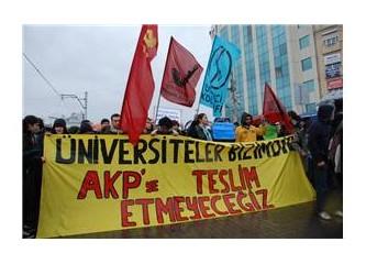 Protesto bir demokratik haktır!