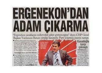 CHP, AK Parti'ye çalışıyor