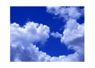Gökyüzü, bulutlar, güneş...