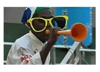 """Zurnada peşrev olmaz """"vuvuzela"""""""