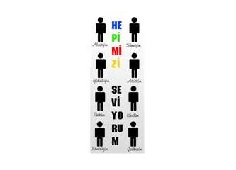 Aleviyim, Sünniyim, Yahudiyim, Ateistim, Türküm, Kürdüm, Ermeniyim, Çerkezim, hepimizi seviyorum...