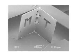 Mikroskobik elektronik cihaz yapımında Nano Origami