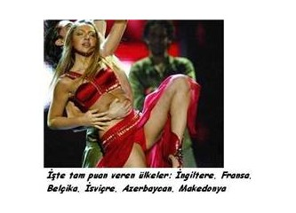 Eurovision'da Hadise yaratacak bir durum yokmuş!