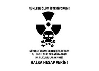 Nükleer enerji istemiyoruz!