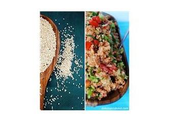 Kinoa (quinoa) ile tanışma ve kinoalı kısır