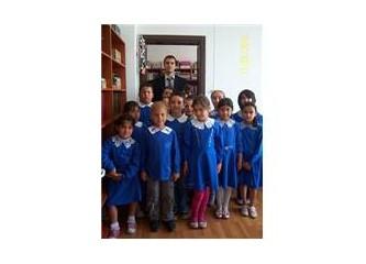 Günlüğümden notlar; kütüphaneye gelen öğrenciler ve öğretmeni