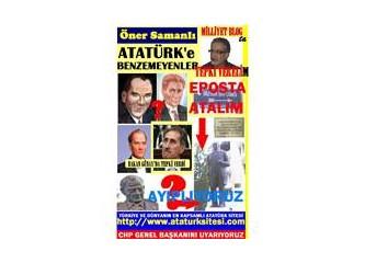 Atatürk'e benzemeyen heykeller ve posterler bilinçli olarak yaptırılıyor..!