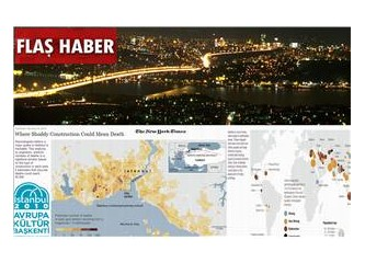 New York Times, İstanbul depremi kehanetini manşetten duyurdu!