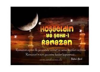 Ramazan ayı yaklaşıyor. Kavurucu sıcaklara dikkat!