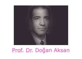 "Hocamız Prof. Dr. Doğan Aksan da ""üstü kalsın"" dedi..."
