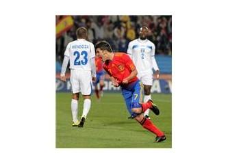 İspanya 2-0 Honduras