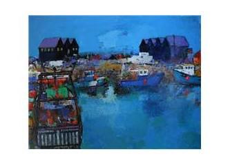 Mavi masal limanı,