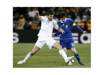 Arjantin 2-0 Yunanistan