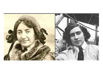 Rekabet var. Dünyanın ilk kadın savaş pilotu kim?