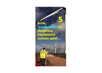 Yenilenebilir enerji ve diğer yöntemler
