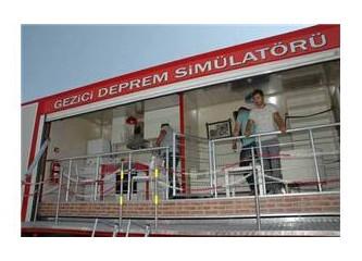 Karşıyaka Belediyesi deprem simülatörü ile deprem eğitimi verecek