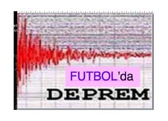 Futbolda Tarihi Deprem!