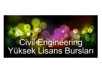 İnşaat Mühendisliği Yüksek Lisans Bursları 1 - University of California, Berkeley