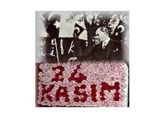 Atatürk'ün  Öğretmenler Günü mesajı!