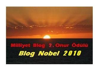 Milliyet Blog 2. Onur Ödülü / Blog Nobel 2010