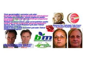 Nar çekirdeği krem - botoks etkisi
