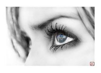 Bir intihar gözlerin