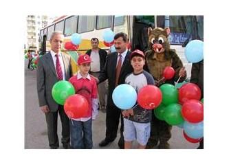 Mersin orman bölge müdürlüğü 23 Nisanda binlerce balon dağıttı