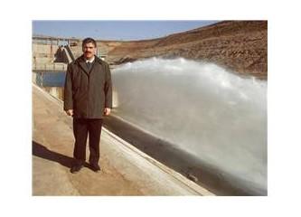 Sulama kanalından sulama müdürlüğüne