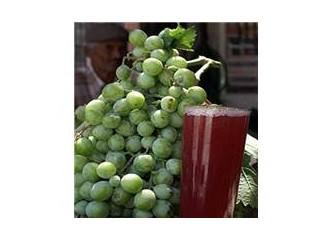 Bademli Köyü' nün ünlü koruk şurubu (Alicem's drink)