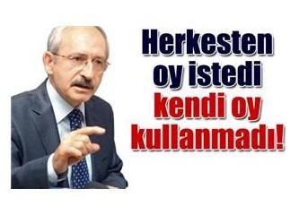 """Bir """"oy""""una bile sahip çıkamayan Kılıçdaroğlu Türkiye Cumhuriyeti'ne nasıl sahip çıkacak?"""