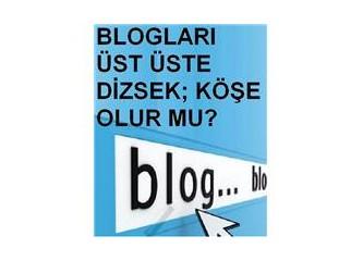 Blogları üst üste dizip köşe yapmak mümkün mü?