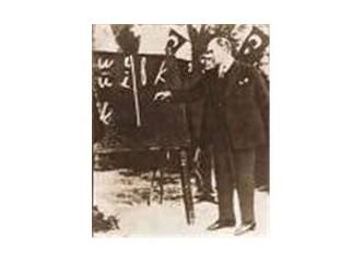 Atatürk harf devrimini hangi şartlar altında yaptı?