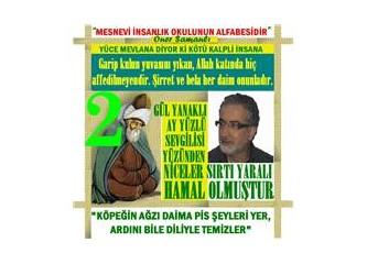 """Mesnevi"""" de Mevlana'dan  """"Köylünün Fendi""""  Bölüm.2"""