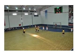 Mersin'de 1. Minik erkekler hentbol şenliği başladı  ...