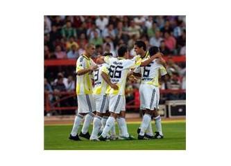 Galatasaray maçı öncesi.