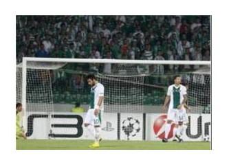Bursaspor  0 - 4  Valencia (Şampiyonlar Ligi, Süper Lig değildir)
