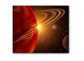 Satürn evlerde