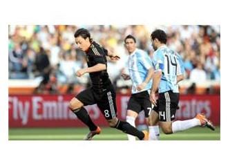 Almanya 4-0 Arjantin