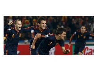 Futbolun Güzellikleri : İspanya 1-0 Paraguay