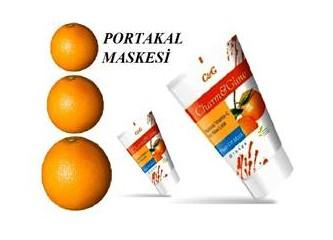Portakal maskesi
